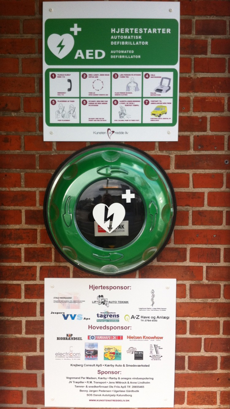 AED at Rørby Brugs